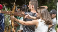 Sport Nature à TARNAC – Tir à l'Arc 2 août 2016