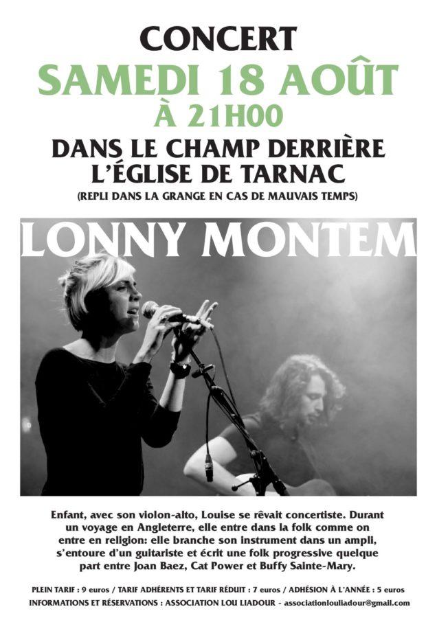 18 août 2018 – Concert de Lonny Montem