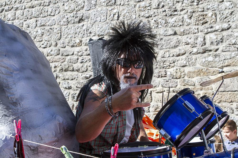 heavy drumer