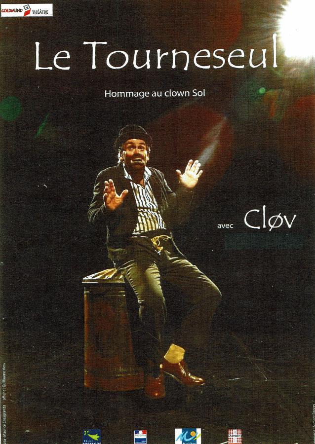 9 octobre 2018 – Théâtre : Le tourneseul – hommage au clown Sol