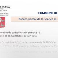 COMMUNE DE TARNAC