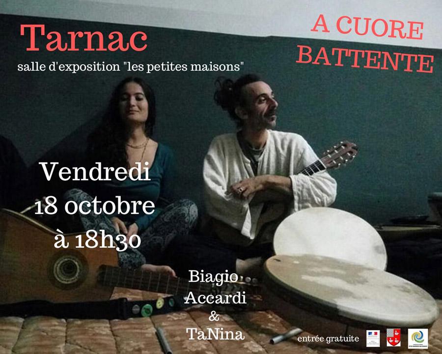 concert A cuore battente Tarnac
